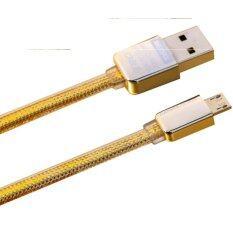 ราคา Remax Gold Series Micro Usb Safe And Speed Charger 1000 Mm Gold Remax เป็นต้นฉบับ