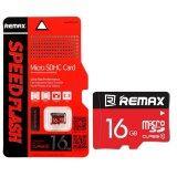 ซื้อ Remax หน่วยความจำ Micro Sd Card 16Gb Cl10 Red ออนไลน์ Thailand