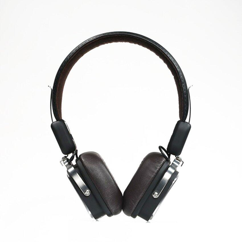 แนะนำเลือกซื้อ Remax หูฟังบลูทูธ RB-200HB 3.5mm mart HIFI Wireless Bluetooth Headphone On-Ear Headset for Smartphones (สีน้ำตาลเข้ม) ยี่ห้อไหนดีที่สุด