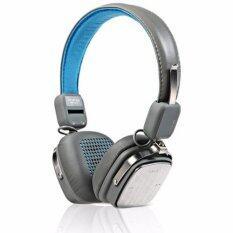 ราคา Remax หูฟังบูลทูธ แบบครอบหู Hifi Wireless Bluetooth Headphone รองรับ Ios และ Android รุ่น Rm 200Hb สีฟ้าเทา ถูก
