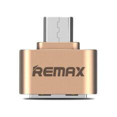 ขาย Remax Ra Otg Usb Otg Adapter สำหรับ Samsung Android สีทอง ออนไลน์ ไทย