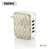 ราคา Remax Rp U41 ที่ชาร์จ 4Usb Charger Adapter 6A สีทอง ที่สุด