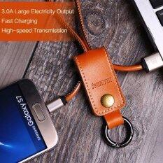 Remax สายชาร์จ Micro Usb Western Portable Data Cable สีน้ำตาล ถูก