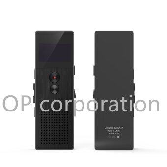 Remaxเครื่องบันทึกเสียง Voice Recorder 8GB RP1 BLACK