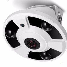 RENZU กล้องโดม1.3 ล้านพิกเซล 180 องศา AHD TVI CVI ANALOG DOME FISHEYE CAMERA