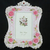 Retro Vintage Pink Rose Flower Home Decor Photo Frame Picture Frame Resin 4 X 6 Intl Unbranded Generic ถูก ใน จีน
