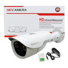 REVOTECH-RT-1518HDI กล้องวงจรปิด Bullet IR-Camera 1.3ล้านพิเซล HD 960P Hybrid 4in1 AHD/TVI/CVI/ANALOG Multi System Smart IR LED IP66 (White)