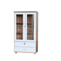 ซื้อ Rf Furniture ตู้เอนกประสงค์ ทั้งเก็บเอกสาร และ โชว์ของรุ่น Fl0802 สีคาปูชิโน่ ขาว กรุงเทพมหานคร
