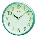 ส่วนลด Rhythm นาฬิกาแขวนผนัง ตัวเลขมีพรายน้ำ รุ่น Cmg727Nr05 สีบอร์นเขียว Rhythm