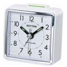 ราคา Rhythm นาฬิกาปลุก รุ่น Cre210Nr03 White ใหม่