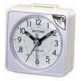 ซื้อ Rhythm นาฬิกาปลุก รุ่น Cre211Nr03 White ถูก ใน ไทย