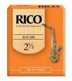 ส่วนลด Rico ลิ้นอัลโต แซกโซโฟน รุ่น กล่องส้ม เบอร์ 2 5 กล่องละ 10 อัน Rico