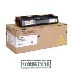 ซื้อ Ricoh Sp C310Hs สีเหลือง Code 406486 หมึกแท้ รับประกันศูนย์ Ricoh
