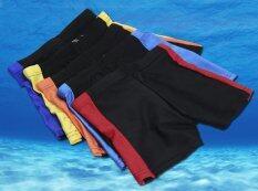 ราคา Riko กางเกงว่ายน้ำเด็กชาย สีแดง Riko เป็นต้นฉบับ