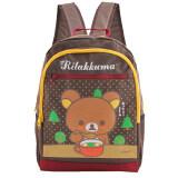 ซื้อ Rilakkuma กระเป๋าเป้ กระเป๋านักเรียนสะพายหลัง สีน้ำตาล ใหม่