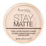 ขาย Rimmel London Stay Matte Long Lasting Pressed Powder No 001 Transparent 14G ถูก ใน ไทย