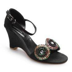 ส่วนลด สินค้า Roccoco รองเท้าส้นตัน A 326 Black