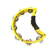 ราคา Rock ทัมบูรินพลาสติกครึ่งวงกลม รุ่น T Yl สีเหลือง
