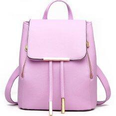 ขาย Rocklife Women Backpack กระเป๋าสะพาย กระเป๋าเป้สะพายหลัง Purple