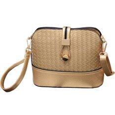ราคา Rocklife Women Bag กระเป๋าสะพายพาดลำตัว Cross Body Bag 0016 ทอง เป็นต้นฉบับ Rocklife