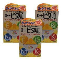 ขาย Rohto Vita 40 Alpha Eye Drops 12Ml ยาหยอดตาสูตรเย็น ระดับ 3 3 กล่อง Rohto ผู้ค้าส่ง