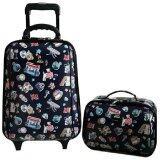 ส่วนลด สินค้า Romar Polo กระเป๋าเสื้อผ้า กระเป๋าเดินทาง กระเป๋าล้อลาก Polo ขนาด18 นิ้ว 2 ใบ ชุด