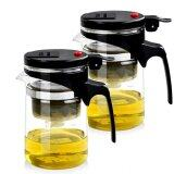 ราคา Rongbiao กาน้ำชา 620 Ml แพคคู่ Black Rongbiao ออนไลน์