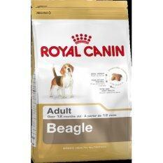 ราคา Royal Canin Beagle *d*lt อาหารสุนัขบีเกิ้ล 10 เดือนขึ้นไป 3 Kg