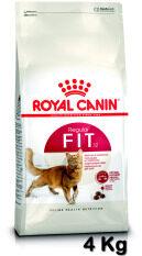 ซื้อ Royal Canin Fit 4Kg รอยัลคานิน อาหารแมวโตอายุ 1 ปีขึ้นไป ขนาด 4 กิโลกรัม Royal Canin