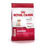 ซื้อ Royal Canin Medium Junior อาหารลูกสุนัขพันธุ์กลาง อายุ 2 12 เดือน 15 Kg