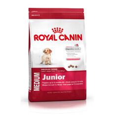ส่วนลด Royal Canin Medium Junior อาหารลูกสุนัขพันธุ์กลาง อายุ 2 12 เดือน 15 Kg ไทย