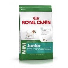 ขาย Royal Canin Mini Junior อาหารลูกสุนัขพันธุ์เล็ก 2 10 เดือน ขนาด 800 G ไทย
