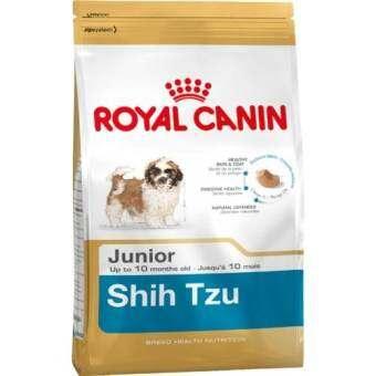 Royal Canin Shih Tzu Junior 1.5kg อาหารสุนัขแบบเม็ด เหมาะสำหรับสุนัขพันธุ์ชิห์สุ ช่วงหย่านม – 10 เดื-