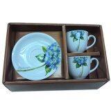 ราคา ราคาถูกที่สุด Royal Porcelain ชุดกาแฟ 2 ที่ ลาย Flower Hydrangea
