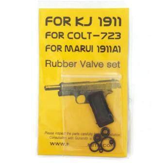 RUBBER VALVE SET For BBGUN M1911 จีน/ไต้หวัน ชุดยางโอริงซ่อมแม็กกาซีนปืน บีบีกัน BBGUN