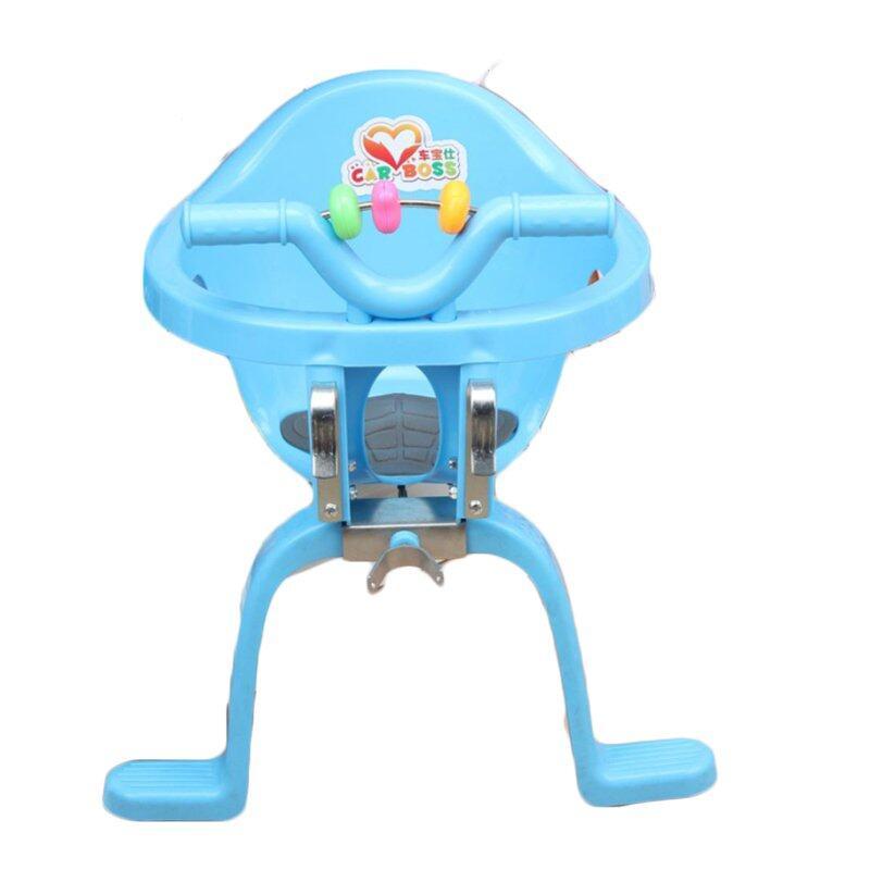 ราคา safety door ที่นั่งเสริมจักรยาน Bicycle Baby Safety Seat ด้านหน้า (Blue)