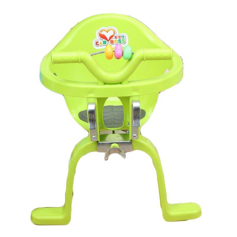 safety door ที่นั่งเสริมจักรยาน Bicycle Baby Safety Seat ด้านหน้า (Green)