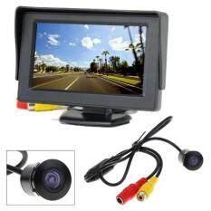 SALEup TFT LCD จอติดรถยนต์ มอนิเตอร์แบบตั้ง 4.3 นิ้ว /กล้องมองหลัง CCD ST - 311 แพ็คคู่