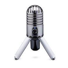 Samson Meteor Mic USB Studio - Silver