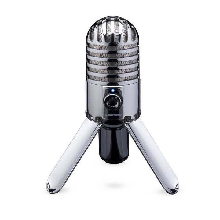 Samson Meteor Mic USB Studio (Silver)