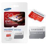 โปรโมชั่น Samsung เมมโมรี่การ์ด 32Gb Evo Plus Micro Sd With Adapter 80Mb S กรุงเทพมหานคร