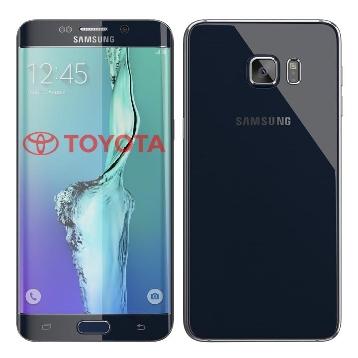 Samsung Galaxy S6 edge Plus 32GB TOYOTA (Black Sapphire)