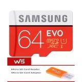 ราคา Samsung Micro Sd 64Gb Class 10 ร่นุ Evo Free Micro Sd Card Reader ออนไลน์