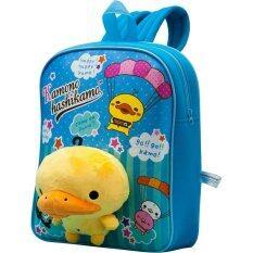 San-X กระเป๋าเป้คาโมะ  สีฟ้า.