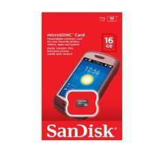 ราคา Sandisk 16Gb Class 4 กล่องแดง Made By Sandisk Sandisk ใหม่