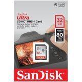 โปรโมชั่น Sandisk 32Gb Ultra Sdhc 80Mb S 533X Sandisk