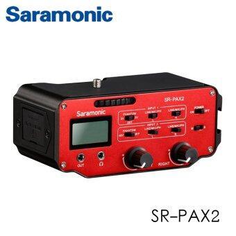 Saramonic SR-PAX2 Audio Adapter for Mirrorless DSLRBlack Magic Pocket Cameras