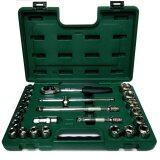 ราคา Sata เครื่องมือช่าง Socket Set บล็อกชุด รู1 2 6เหลี่ยม 24ตัวชุด รุ่น 09060 6 Sata เป็นต้นฉบับ
