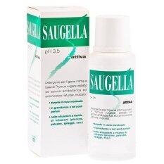 ราคา Saugella Attiva 250 Ml สูตรสีเขียว ปกป้องเป็น 2 เท่า เป็นต้นฉบับ