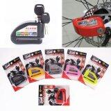 ซื้อ 1 Pce Color Black Security Protect Motorbike Motorcycle Brake Alarm Lock Anti Thief Electric Wheel Disc Zinc Alloy Siren Lock ใน จีน